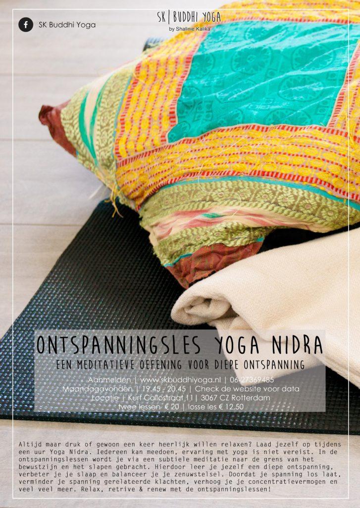 Flyer-Yoga-Nidra,-kussen-mat