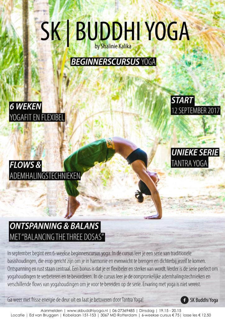 Beginnerscursus Yoga SK Buddhi Yoga